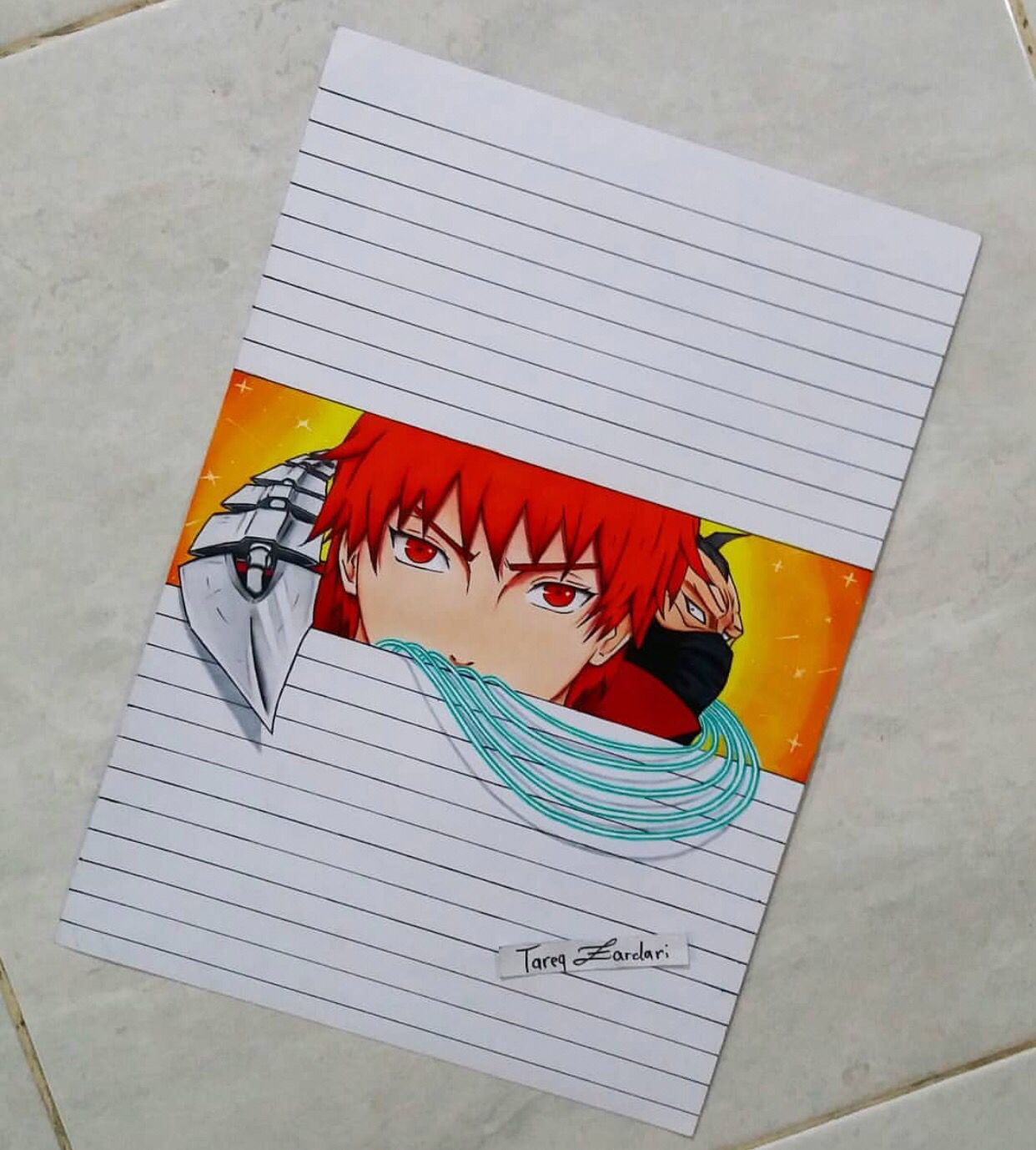 Sasori By Tareqzardari Are You An Anime Artist