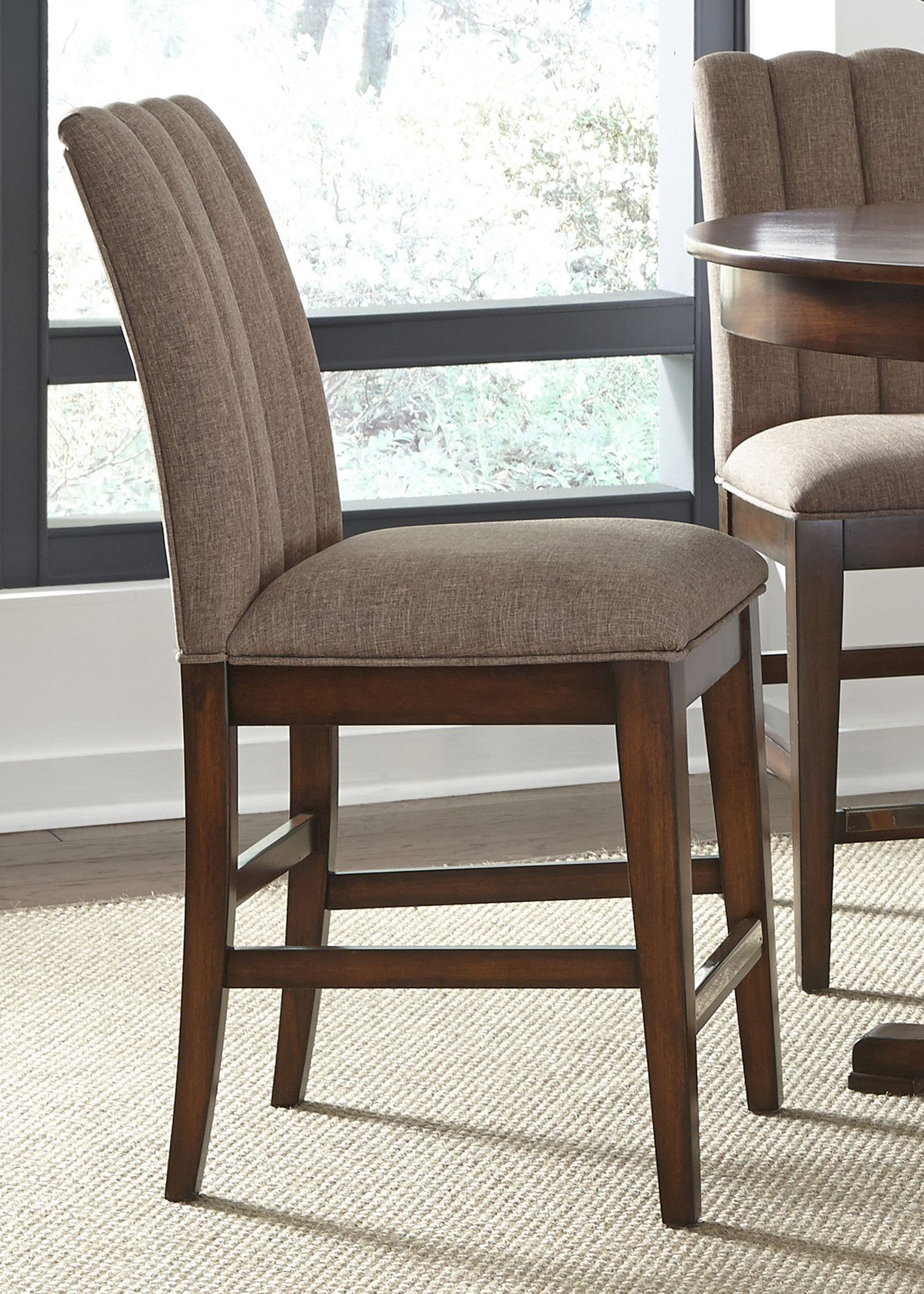Superbe Birch Creek Counter Height Parsons Chair