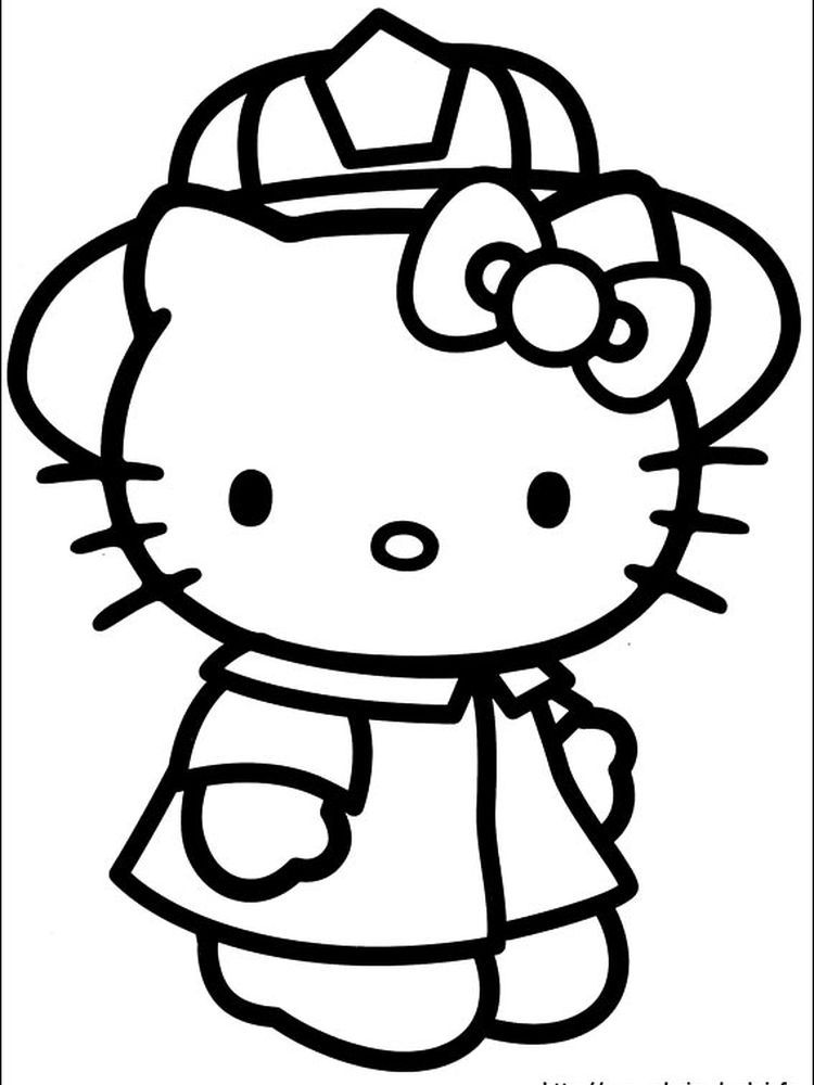 Hello Kitty Colouring Pages Free Printable When We First Heard Hello Kitty The First One Hello Kitty Colouring Pages Hello Kitty Coloring Hello Kitty Drawing