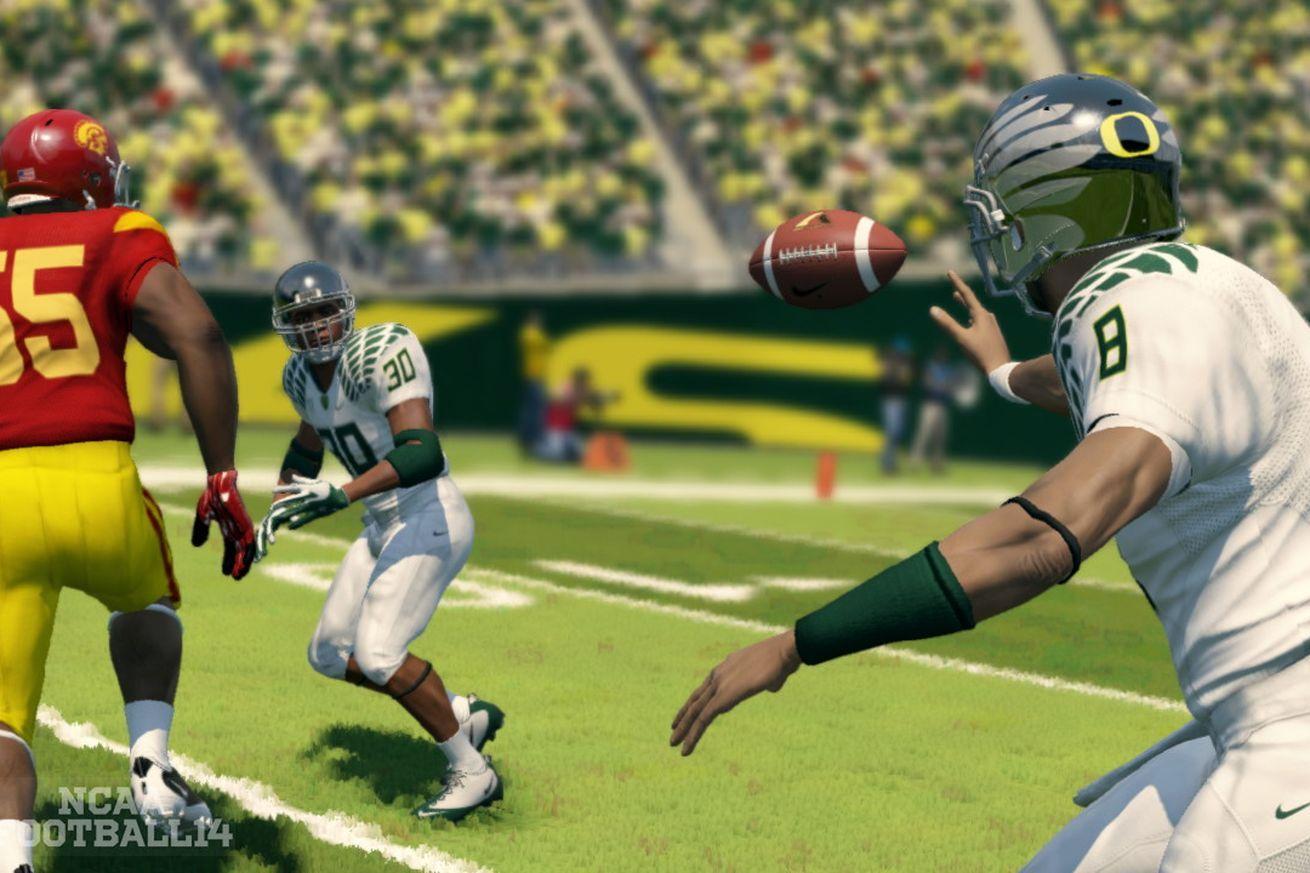 Court EA might make more NCAA games Ncaa football, Ea