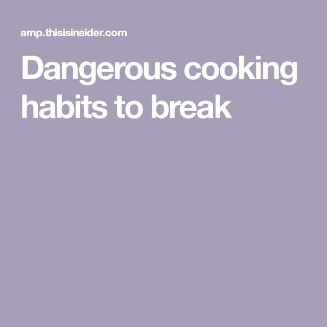 Why Is Microwave Food Bad: 11 Common Cooking Habits That Can Be Dangerous