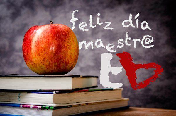"""tebusco en Twitter: """"#FelizDiaDelMaestro a todos los #maestros hoy en su día. #tebusco https://t.co/ST7CctyKHr"""""""