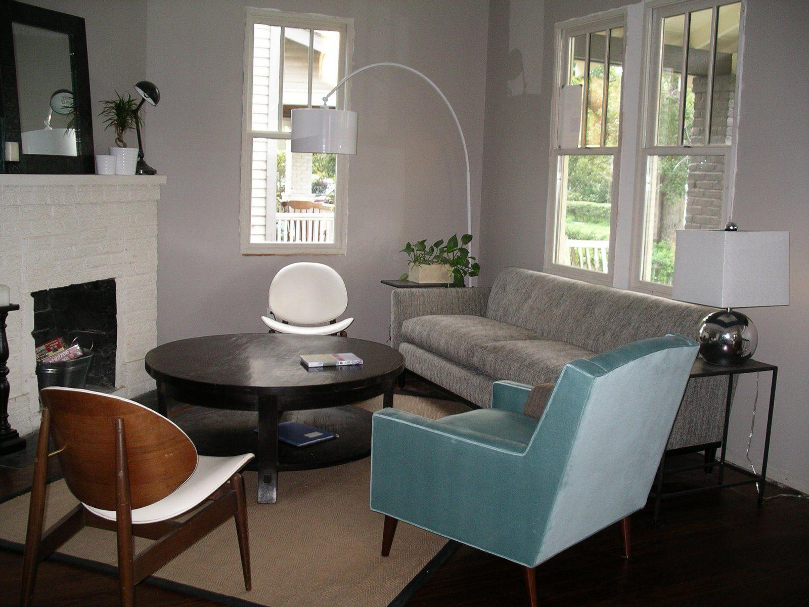 Sherwin Williams Alpaca Condo Living Room Living Room Den