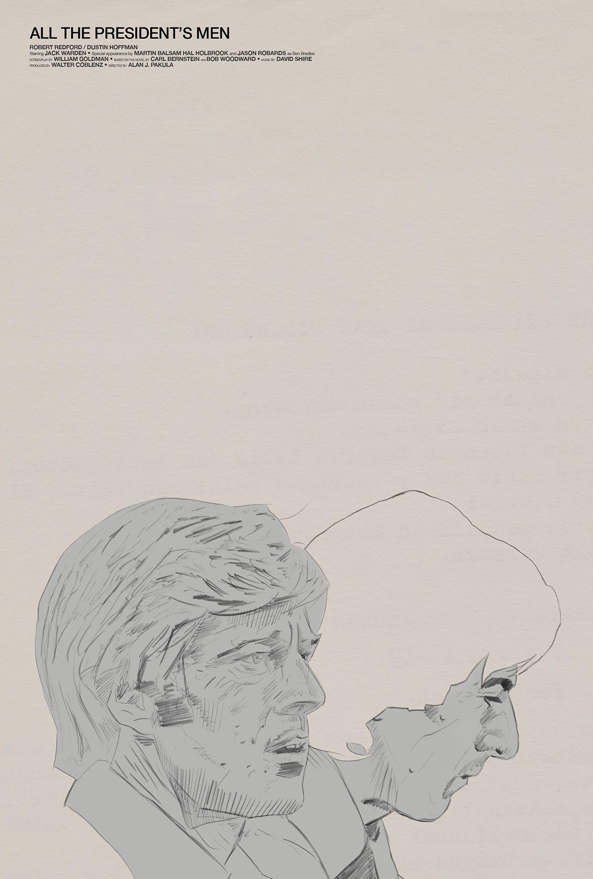 Alan J. Pakula's All The President's Men Film Poster