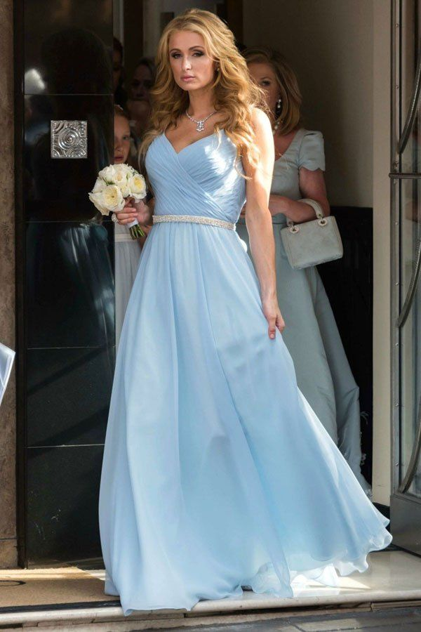 Paris Hilton wedding guest dress | Wedding Guest Dresses | Pinterest ...