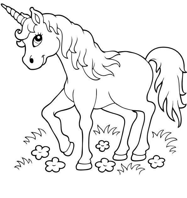 25 ausmalbilder kinder  unicorn coloring pages
