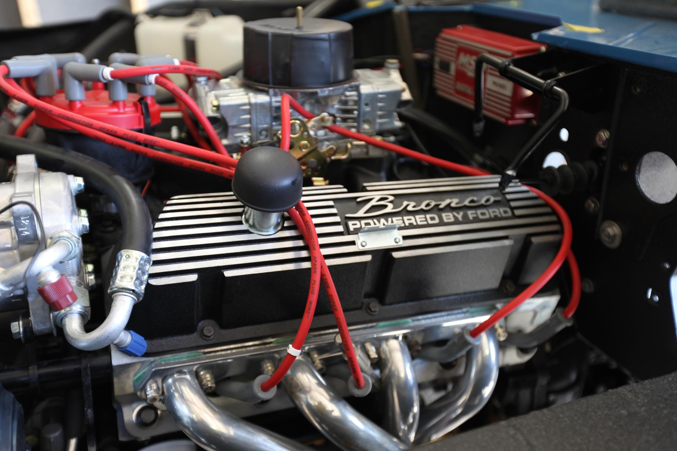 hight resolution of bronco powered by ford 331 stroker engine velocity restorations