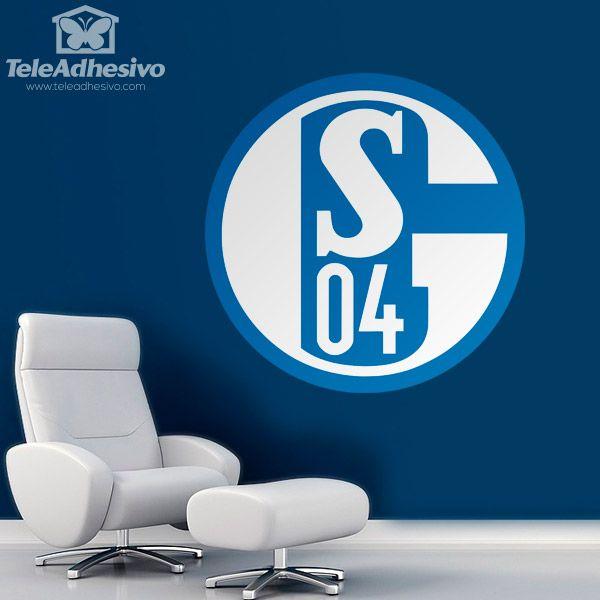 Wall Stickers FC Schalke 04 Badge | Max | Pinterest | Schalke 04 ...