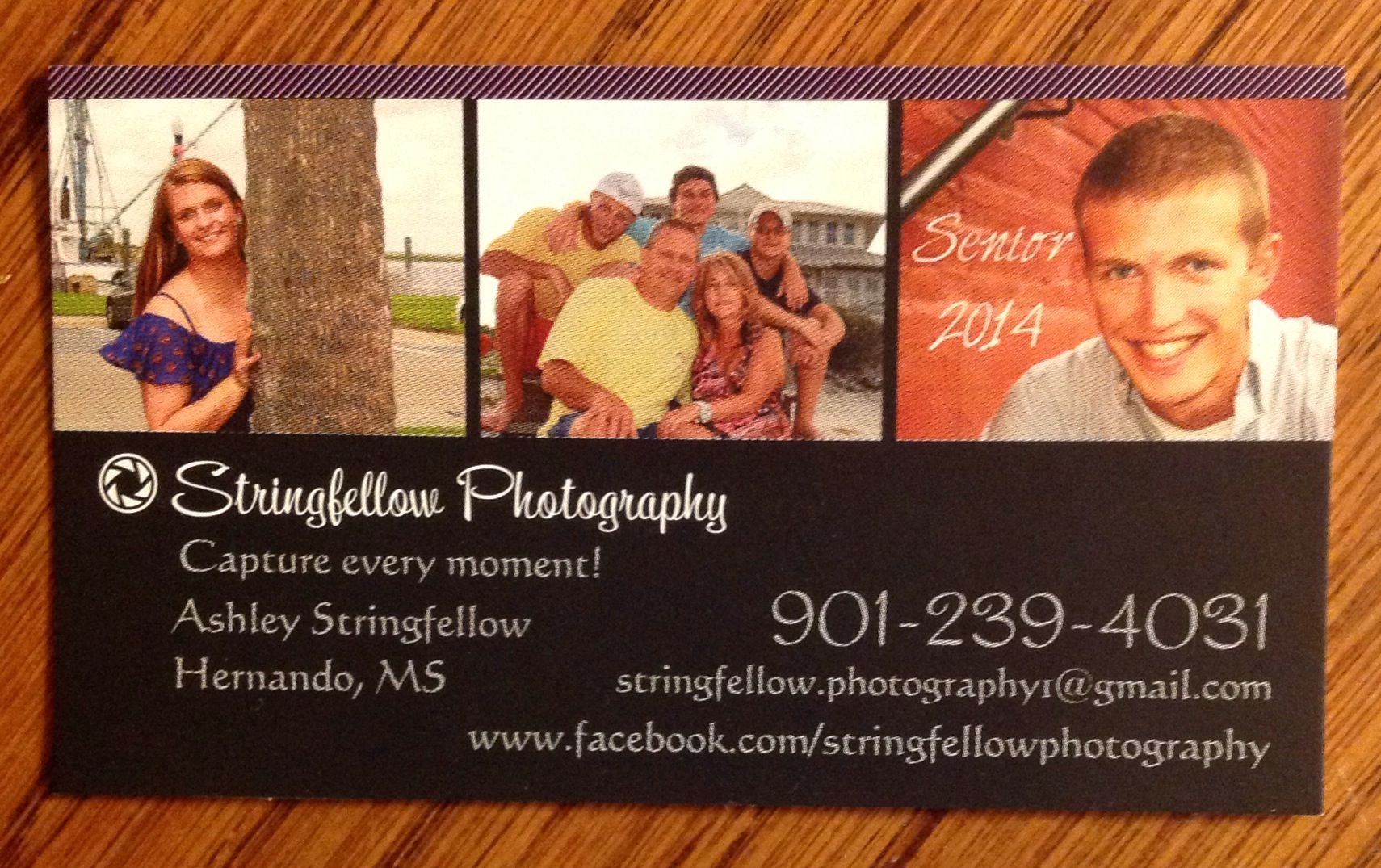 Call me for Senior Pictures