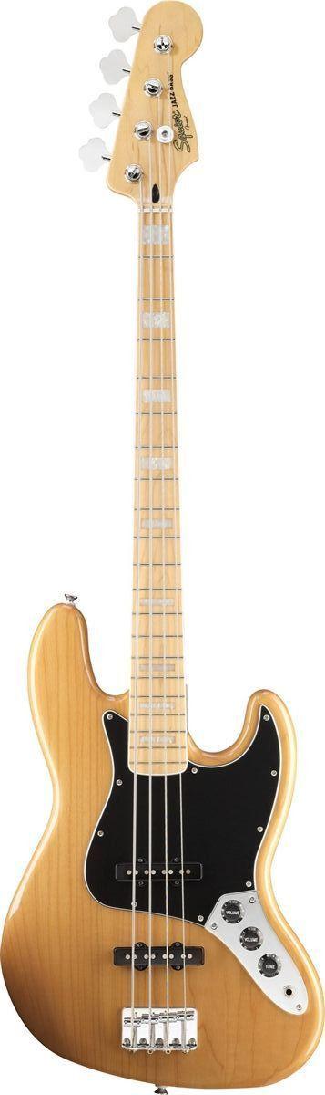 Squier Vintage Modified 77 Jazz Bass Guitar Guitar Bass Guitar Squier