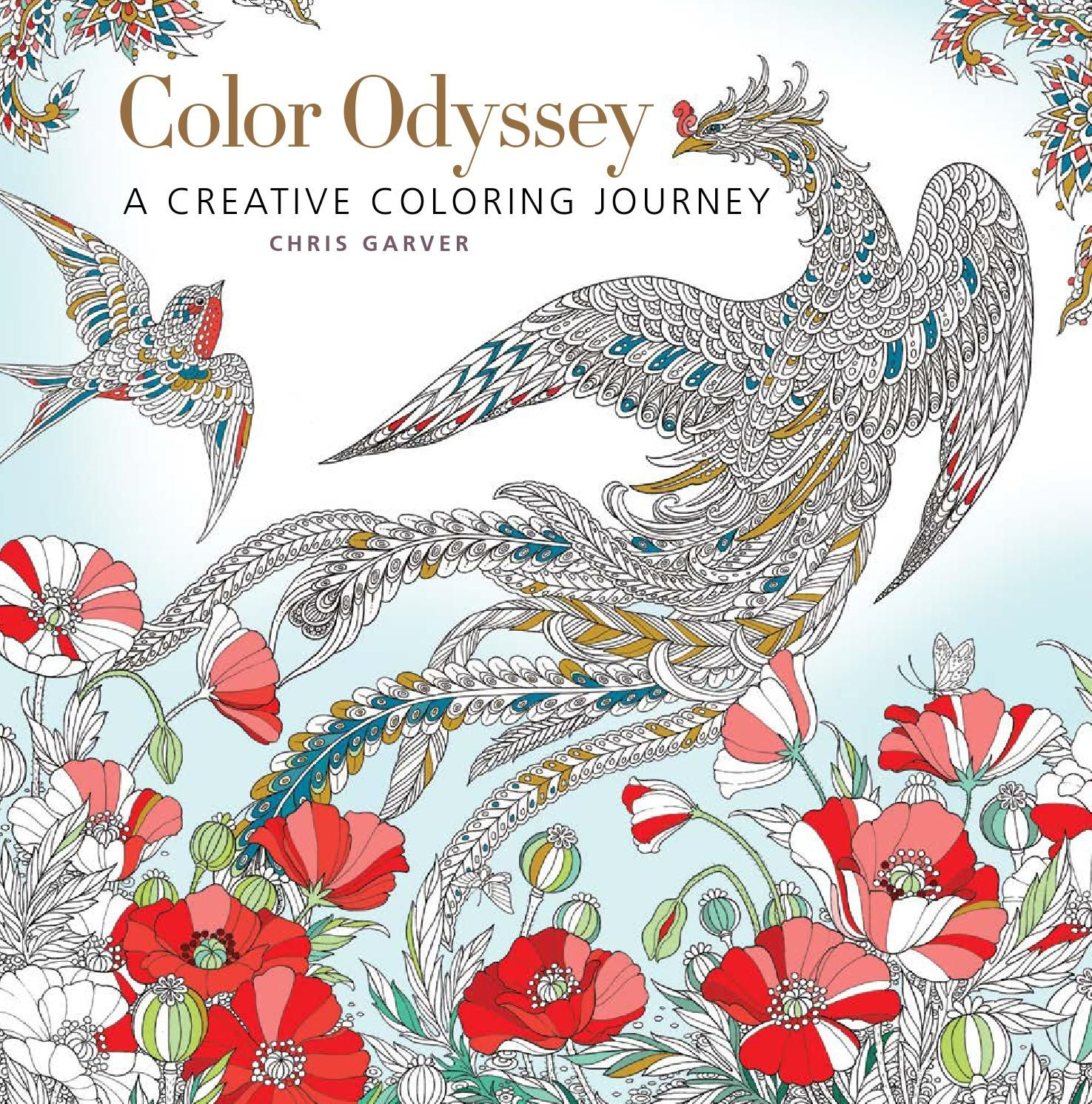 Coloring book software - Color Odyssey Chris Garver Is Best Known As An In Demand Tattoo Artist And A