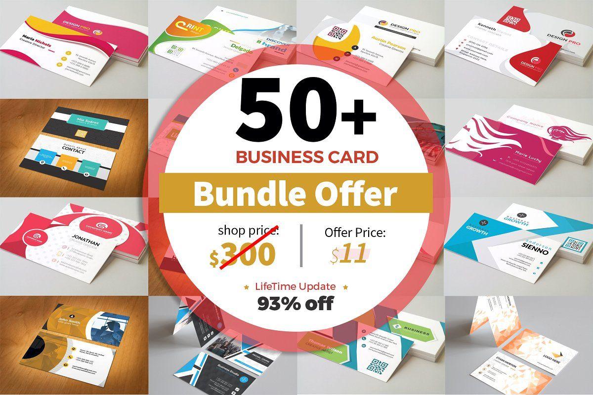 50 Mega Business Card Bundle Business Card Pattern Business Cards Creative Templates Business Card Red