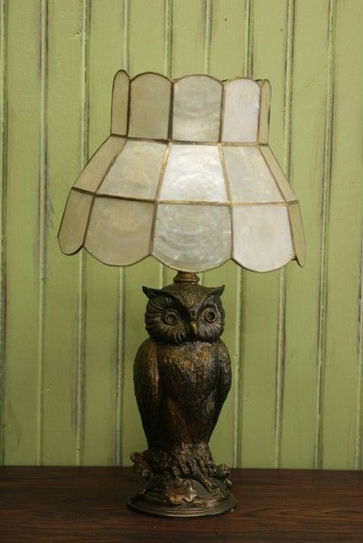 Night Owl Cottage Accent Table Lamp