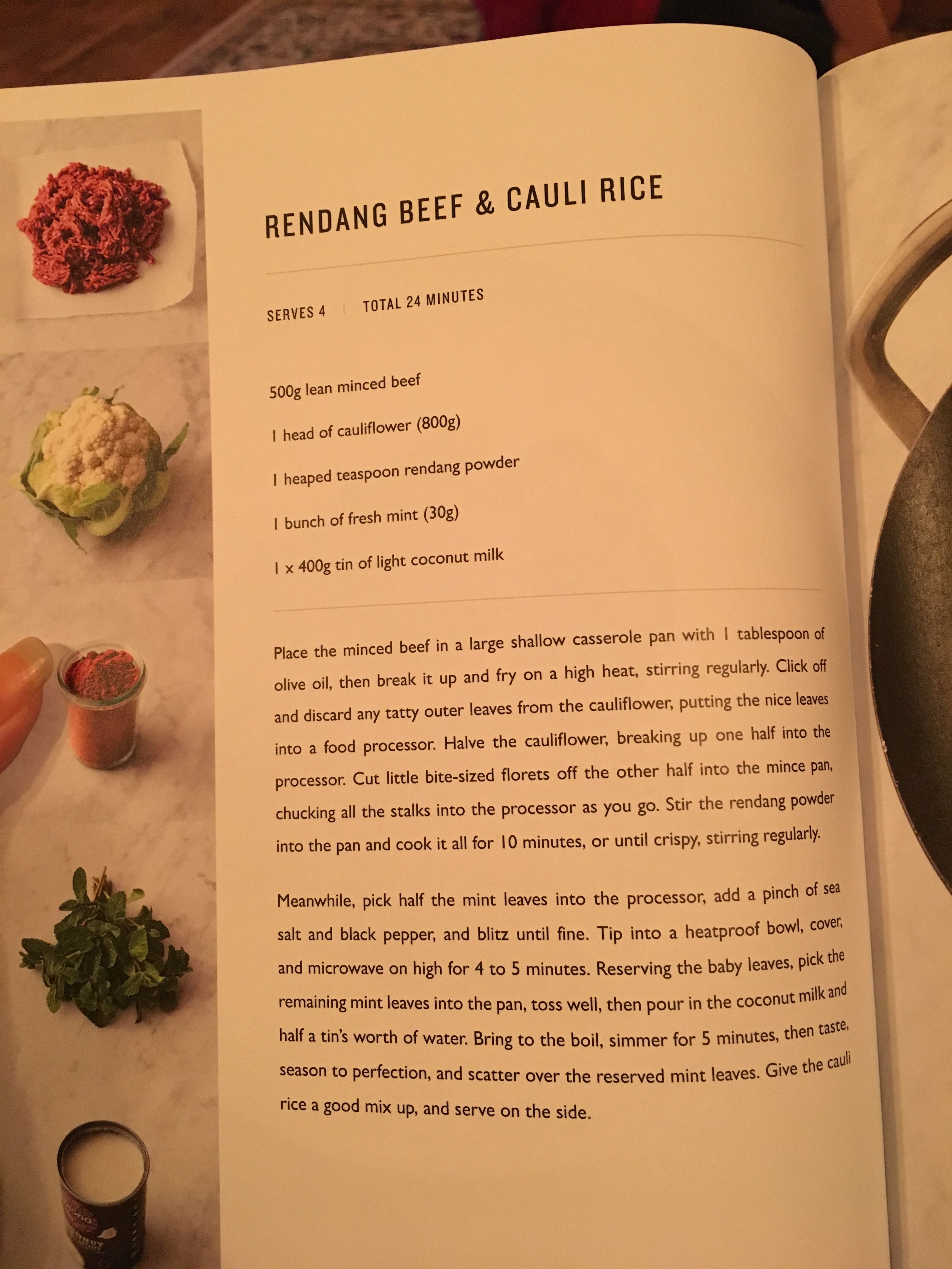 Beef Rendang And Cauli Rice Jamie Oliver Recipes Beef Curry Recipe Recipes