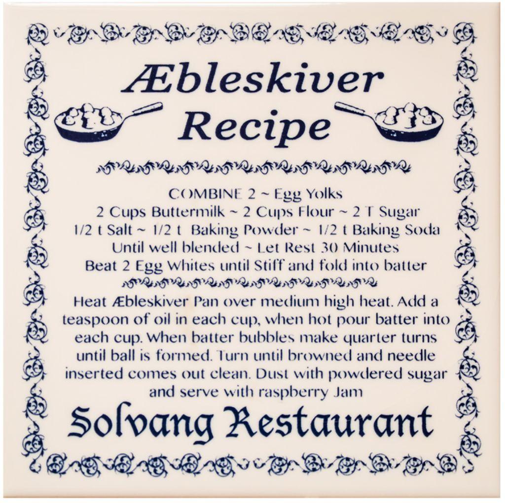 Photo of Æbleskiver Recipe Trivet