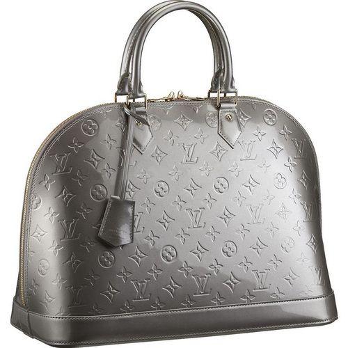 Louis Vuitton Monogram Vernis Alma Mm M91609 Anc