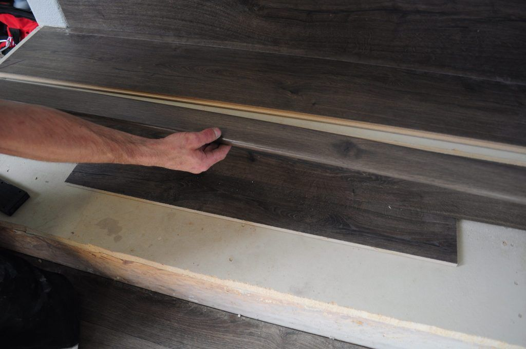 Jo S House Quick Step Stair Installation Process With