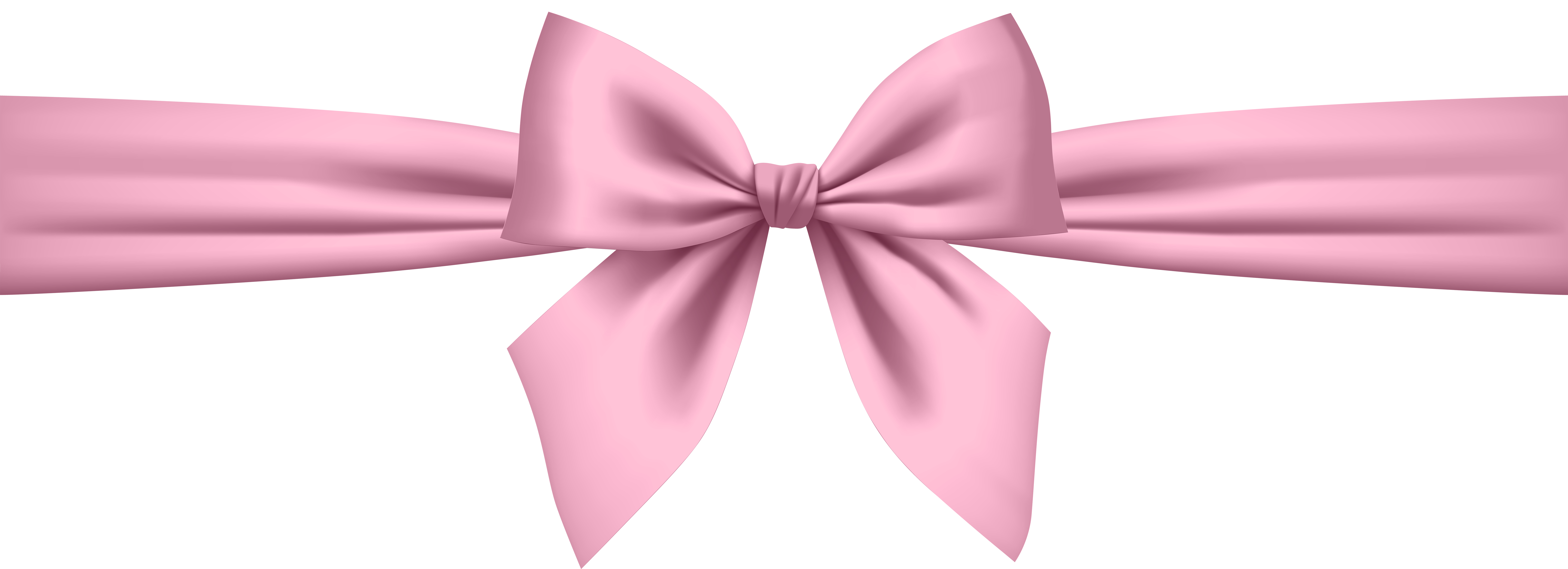 Soft Pink Bow Transparent Png Clip Art Gallery
