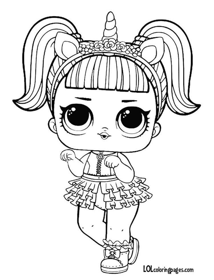 Resultado De Imagen Para Muneca Lol Como Dibujarla La De Unicornio