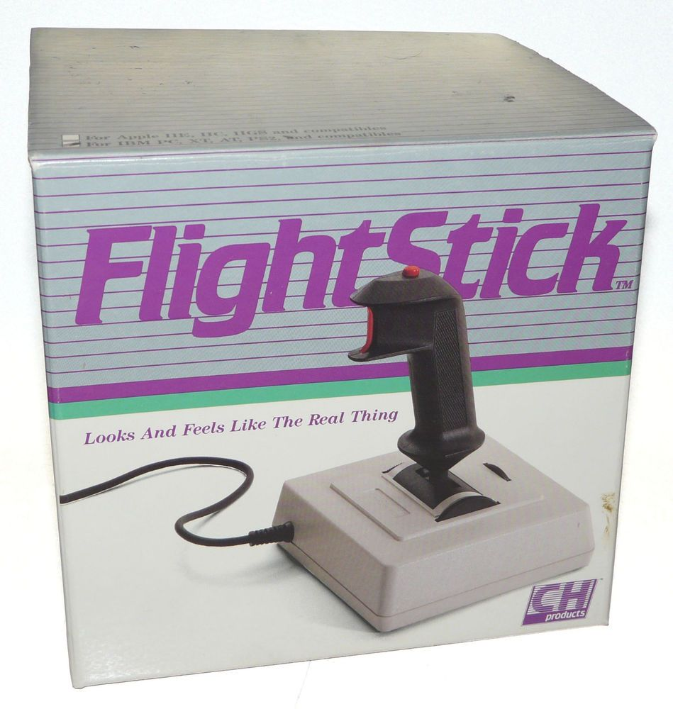 Vintage ch products flight stick joystick in box wmanual ibm pc vintage ch products flight stick joystick in box wmanual ibm pc xt at ps2 sciox Image collections