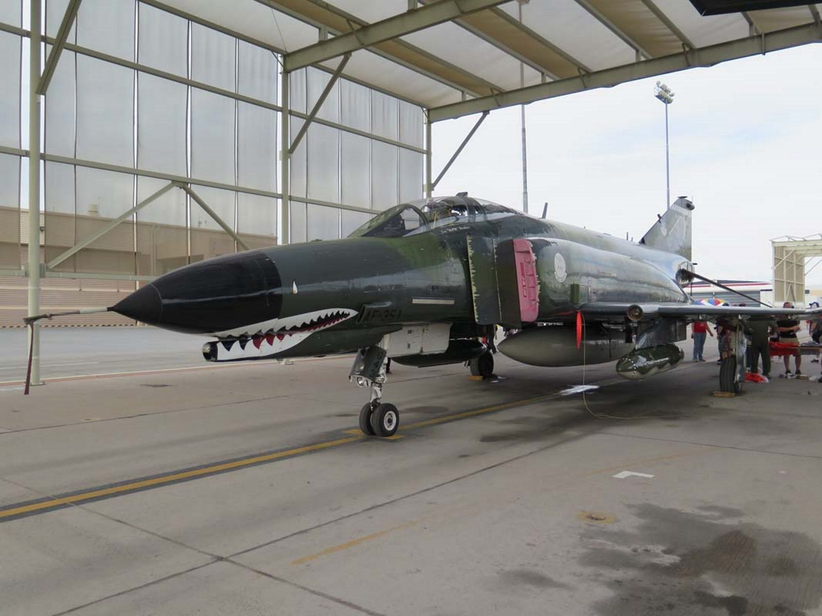 McDonnell Douglas F4 Phantom II WalkAround Airplane