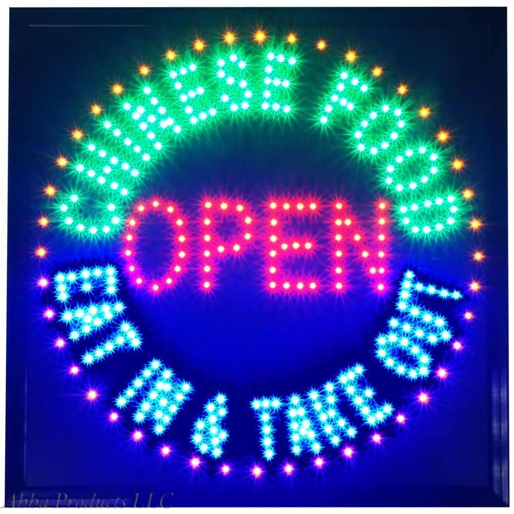 19x19 Chinese Food Eat In Take Out Restaurant Pickup Led Open Store Sign Neon Ahhaproducts Store Signs Chinese Food Chinese Restaurant