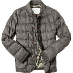 Henry Cotton's Daunen Jacke Herren, Cotton, braun Henry Cotton's #cottonstyle