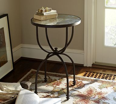 Barn Willow Accent Table Potterybarn
