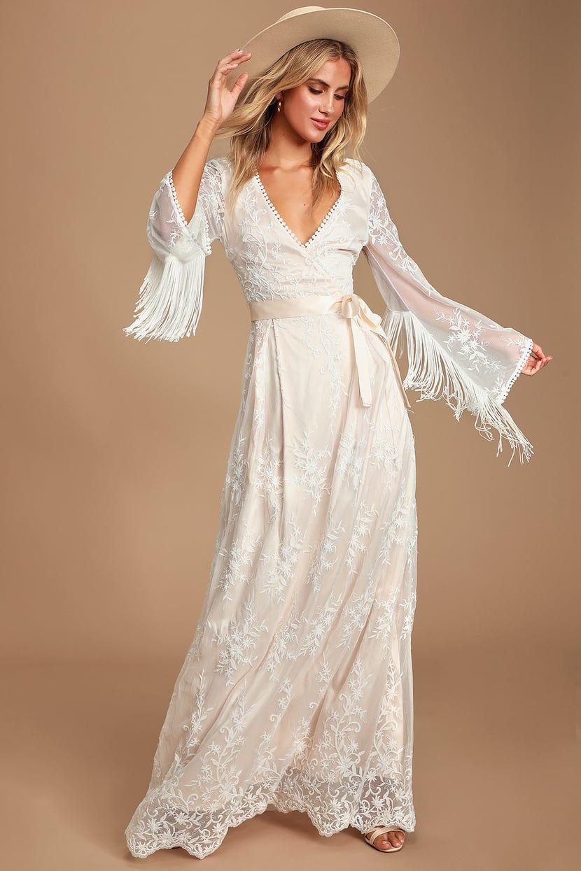 Never Ending Romance White Lace Fringe Maxi Dress White Maxi Dress Boho Long Sleeve Lace Maxi Dress Boho Lace Maxi Dress [ 1245 x 830 Pixel ]