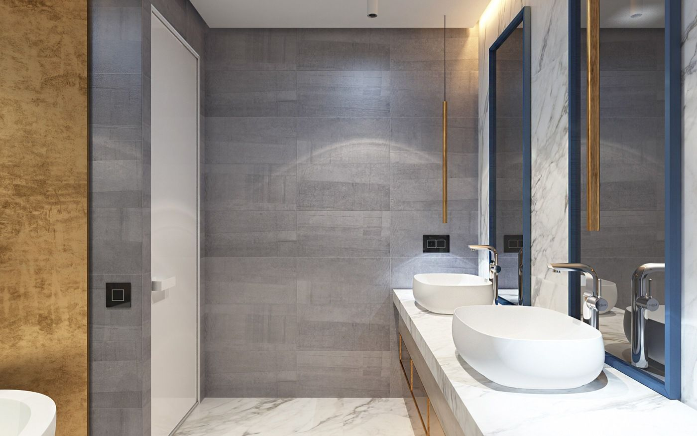 Modern Gray Bathroom  Bedroom Ensuite Ideas  Pinterest  Grey Magnificent Modern Grey Bathroom Designs Review