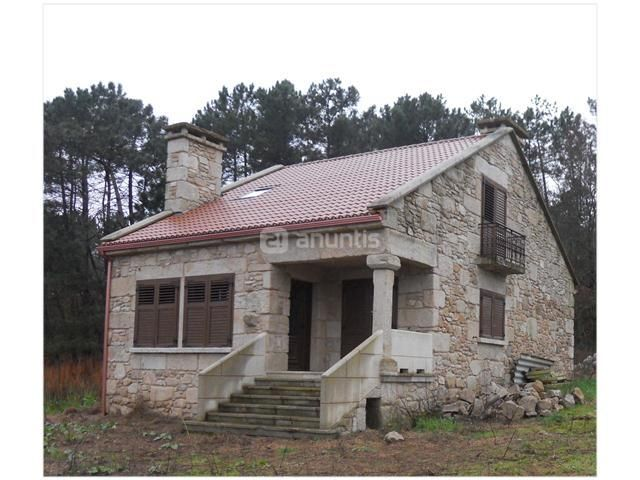 Casa de piedra de dos plantas en construcci n finca de 1 - Construccion casas de piedra ...