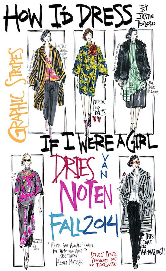 Timo Weiland Justin Teodoro Dries Van Noten Byredo Flowerhead Fashion Sketches Fashion Art Illustration Fashion Illustration