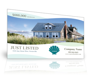 Real estate mailers postcards prospecting