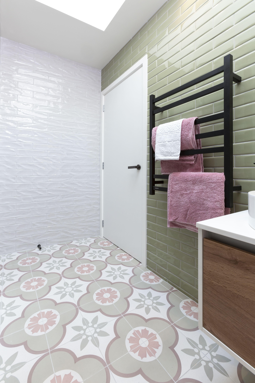 The Block Nz Season 7 Tiles Bathroom Sink Decor Bathroom Wall Decor Diy Wall Decor For Bedroom