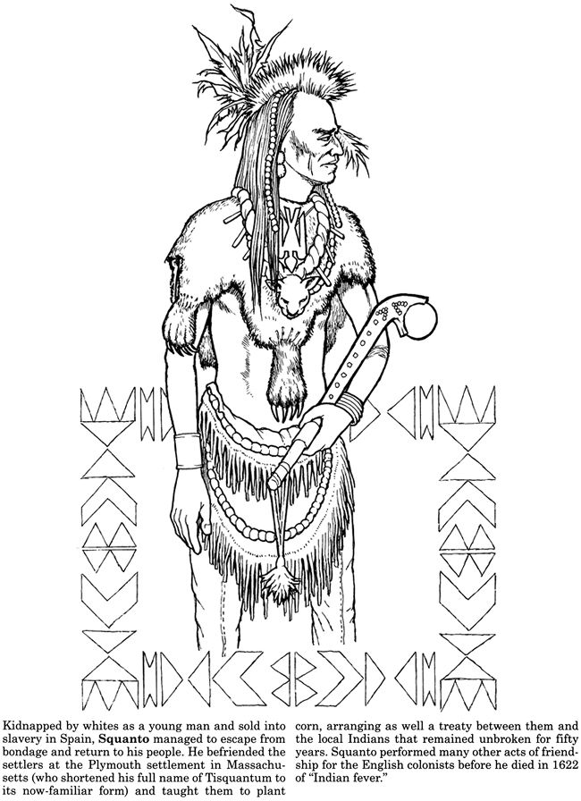 native american history coloring pages - photo#29