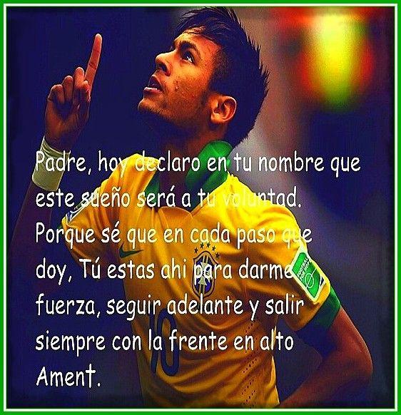 Imagenes De Neymar Con Frases Frases Bonitas De Futbol