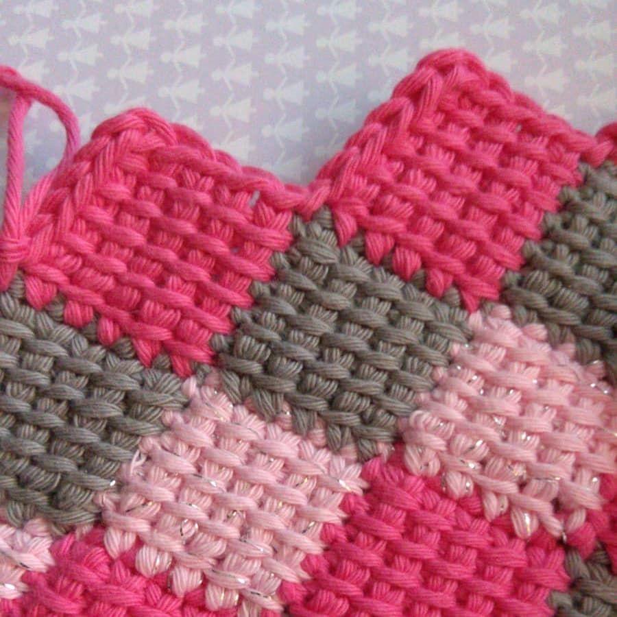 Entrelac Haken Entrelac Crochet Babyblanket Sewing Pinterest