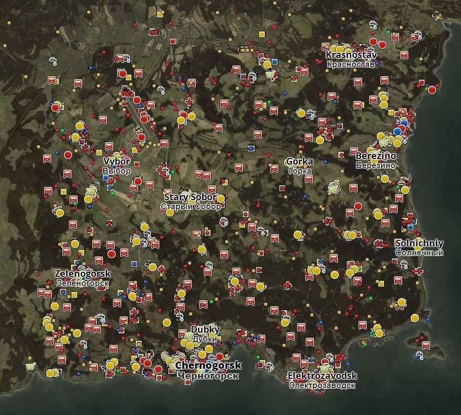 Dayz Db Map Day Z Standalone Map Dayz Db Map Dayz Standalone