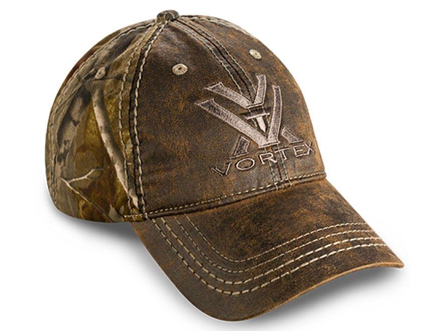 a4b81b94f85 Vortex Optics Weathered Camo Hat Polyester Realtree Xtra Camo