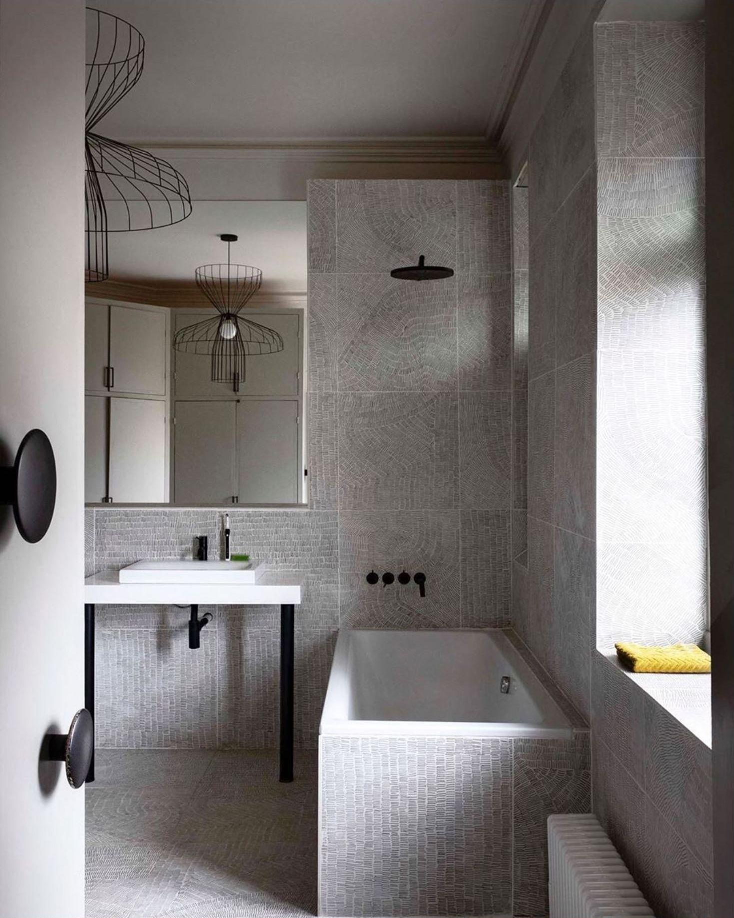 Fossil in 2020 Interior, Elegant mirrors, Modern bathroom