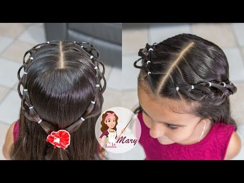 Esterillado Escolar Peinados Para Ninas Paso A Paso Youtube