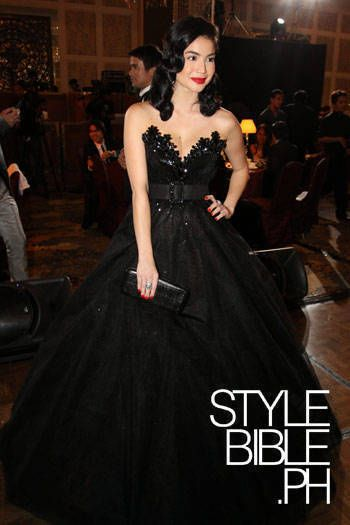Anne Curtis in Michael Cinco (Star Magic Ball 2009) | Anne Curtis ...