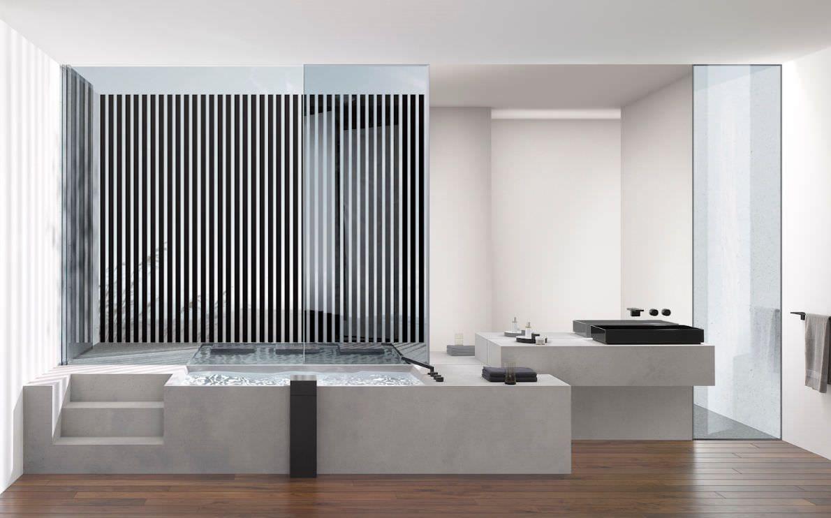 Baños y Spa modernos y de lujo | Gunni & Trentino | Baño de lujo, Baños de lujo, Lavabo de diseño