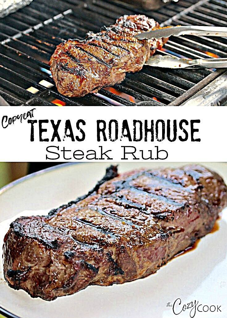 - This Dry Steak Rub recipe tastes just like The Texas Roadhouse Restauraunt! It's easy to make and is perfect for grilling! #steakrub #steak #grilling #recipe #Dry #food and wine Magazine Recipes #Magazine Recipes design #Magazine Recipes desserts #Magazine Recipes layout #Magazine Recipes organization #recipe #Restauraunt #Roadhouse #Rub #Steak #Tastes #Texas #vintage Magazine Recipes