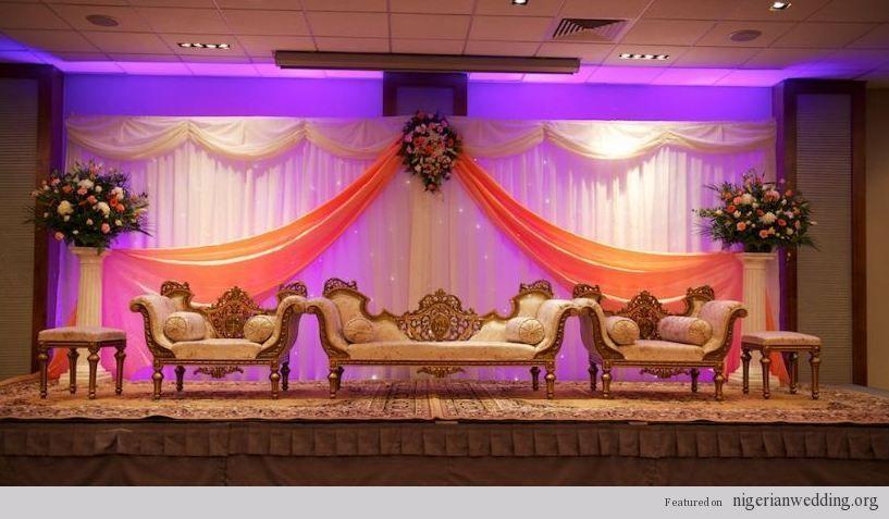 Nigerian wedding stage decoration ideas 3 traditional engagement nigerian wedding stage decoration ideas 3 junglespirit Images