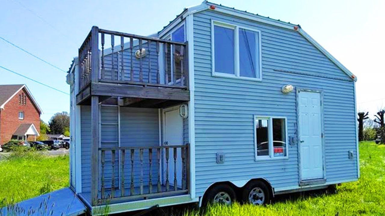 Amazing Rustic Full 2 Story Tiny House So Cheap For Buy 16 5k