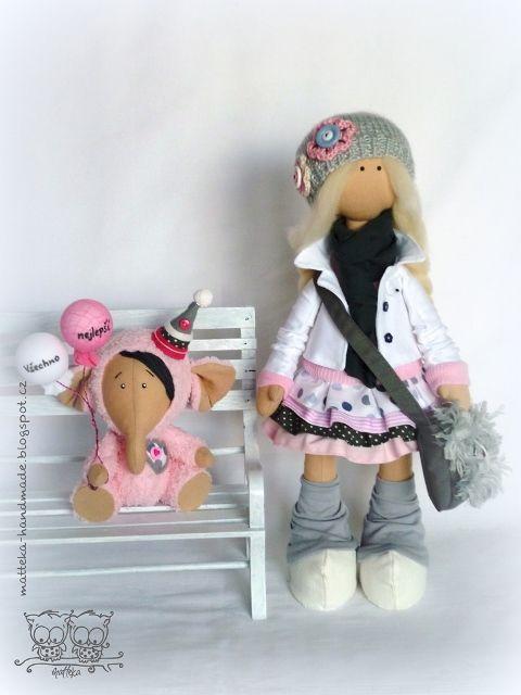 开心果喜欢的时尚娃娃 - qyp.688 - 邱艳萍手工博客