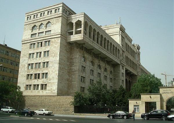Azerbaijan Medical University Named After Nariman Narimanov Azerbaijani Azərbaycan Tibb Universiteti Medical University Medical School Multi Story Building