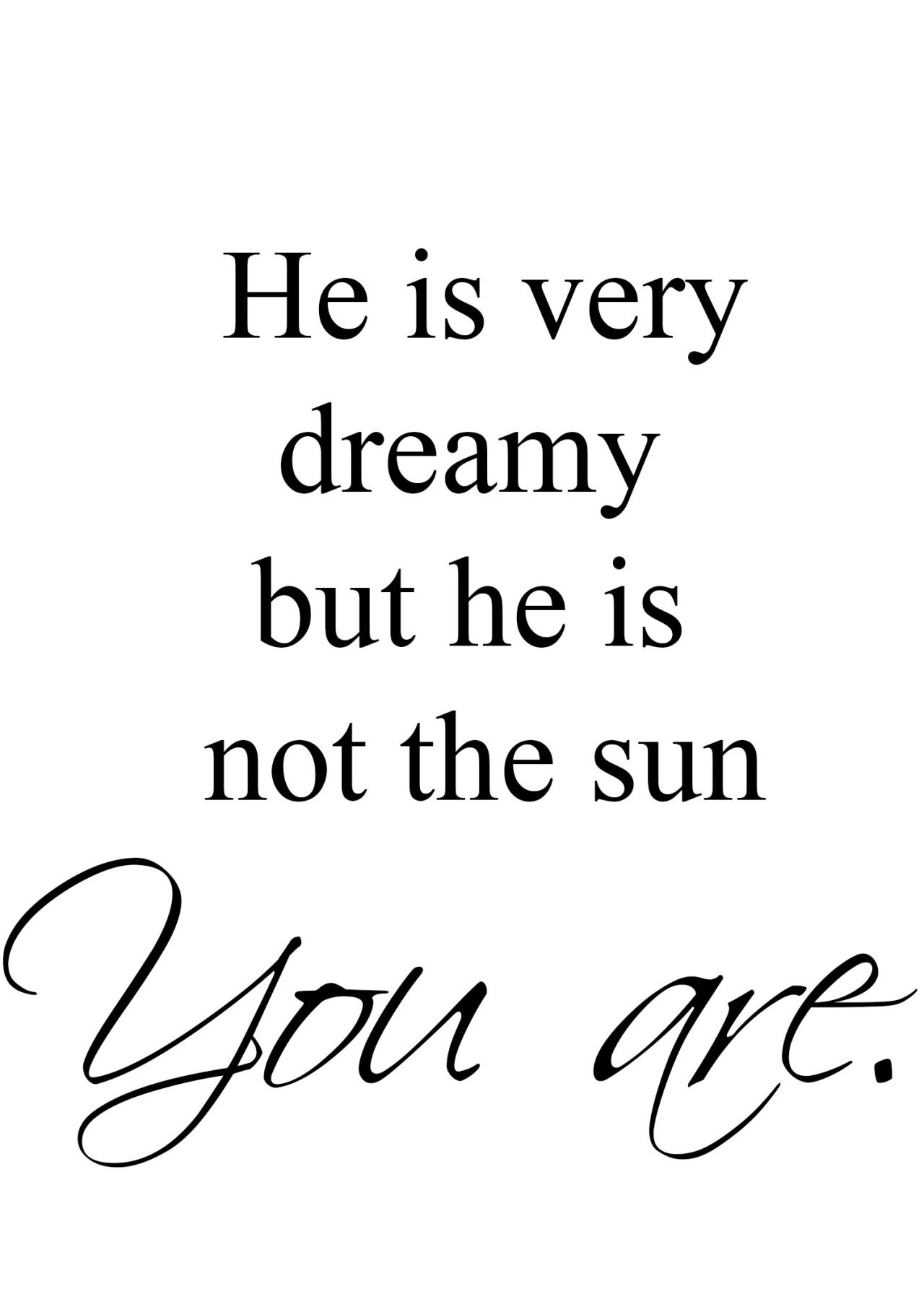 Christina Yang\'s best quote ever. Grey\'s Anatomy. He is not the sun ...