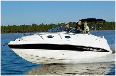 Stingray 250cs Mid Cabin Cruiser Cruiser Boat Cabin Cruiser Boat